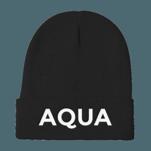 Aquarius Beanie No Glyph