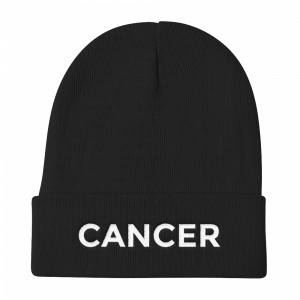 Cancer Beanie No Glyph