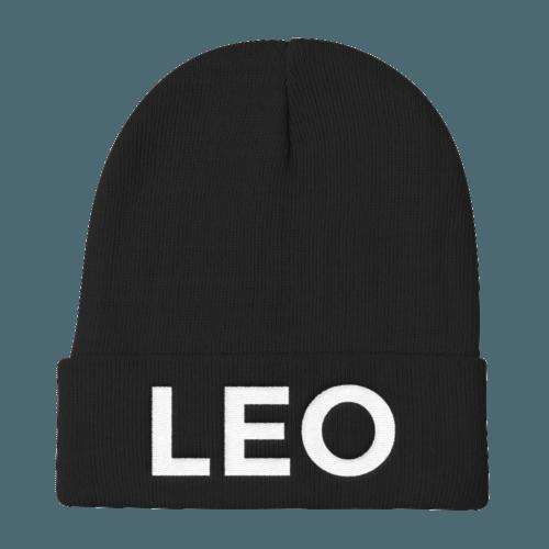 Leo Beanie No Glyph