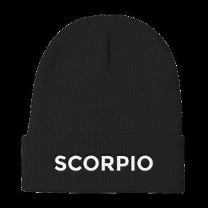 Scorpio Beanie No Glyph