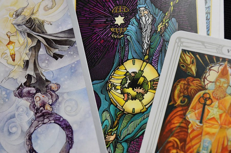 Zodianz The Hermit Tarot Cards