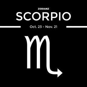 Scorpio by Joan Zodianz