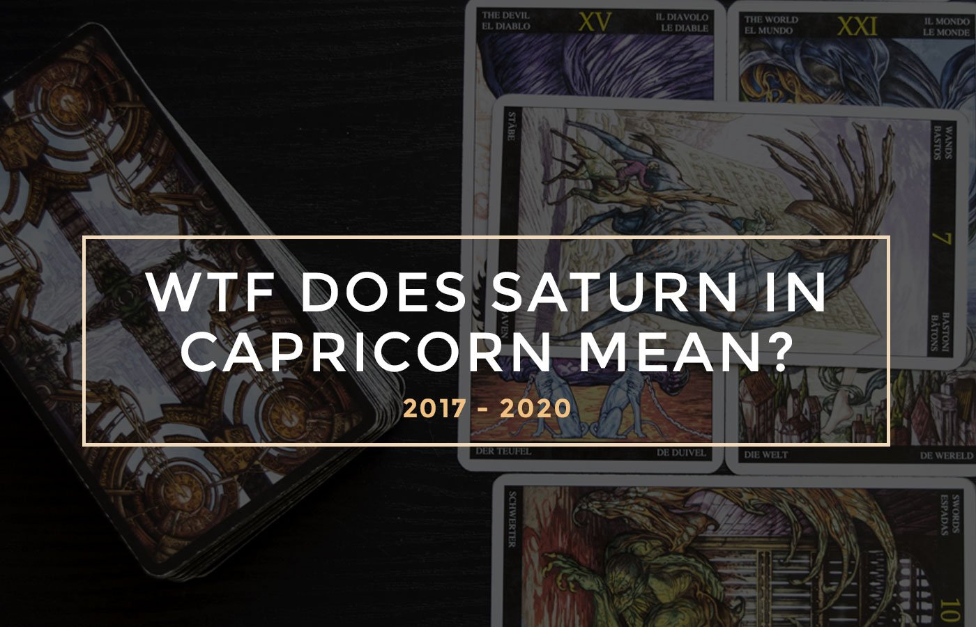 Wtf Does Saturn In Capricorn Mean Capricorn Saturn Explained