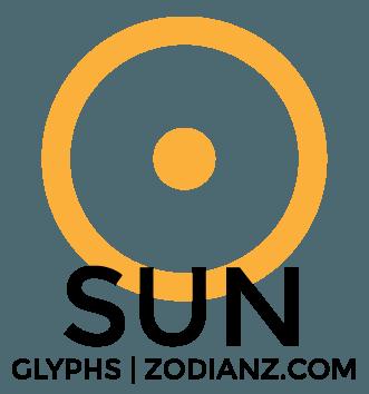Sun Planet Glyph by Joan Zodianz