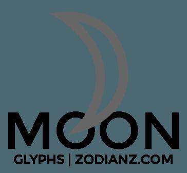 Moon Glyph Planet by Joan Zodianz