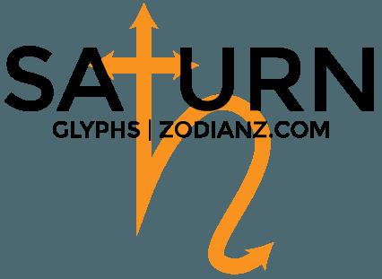 Saturn Glyph Planet by Joan Zodianz