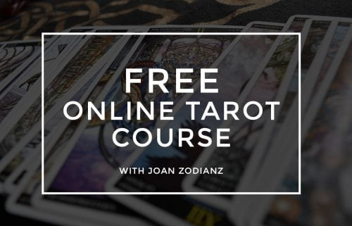 ZODIANZ FREE ONLINE TAROT COURSE