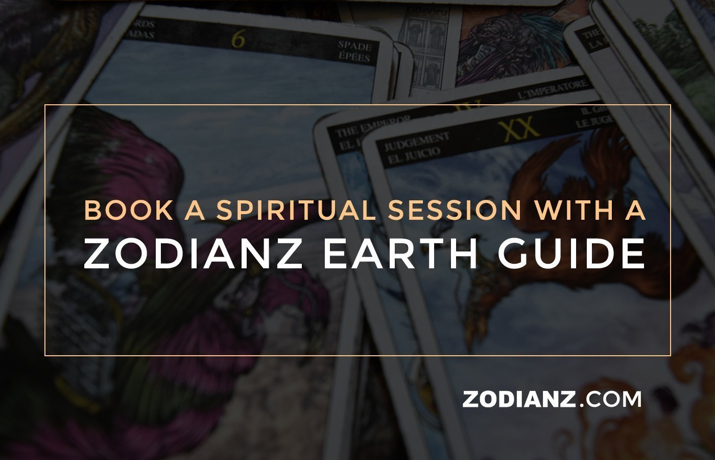 ZODIANZ EARTH GUIDE - BOOK TODAY
