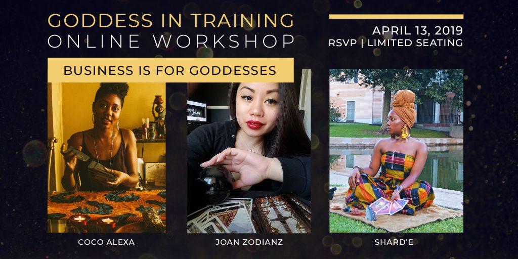 Zodianz Online Goddess Workshops