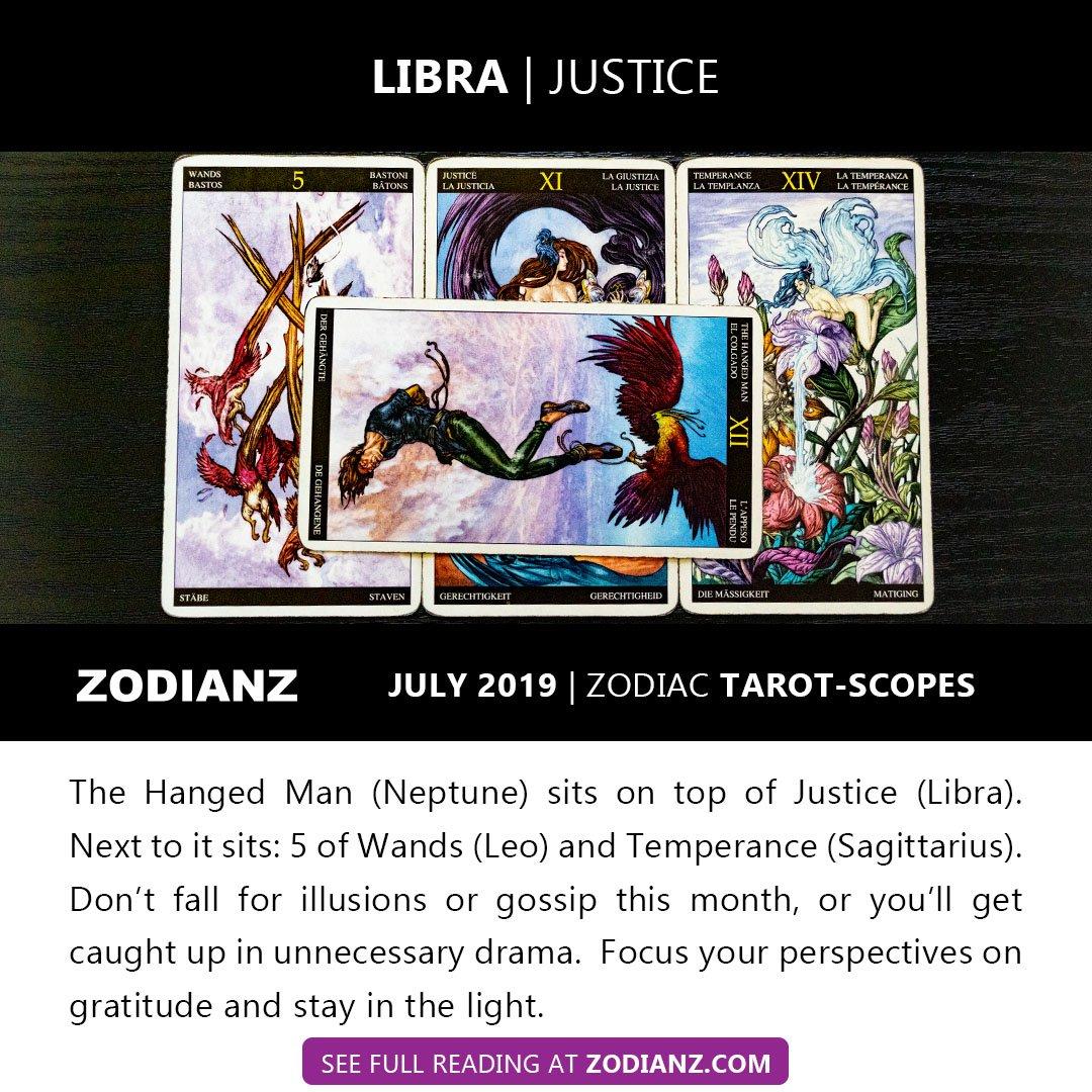 libra tarot scope october 2019