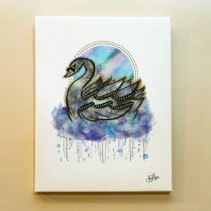 Aquarius Zodiac Canvas Print by Joan Zodianz
