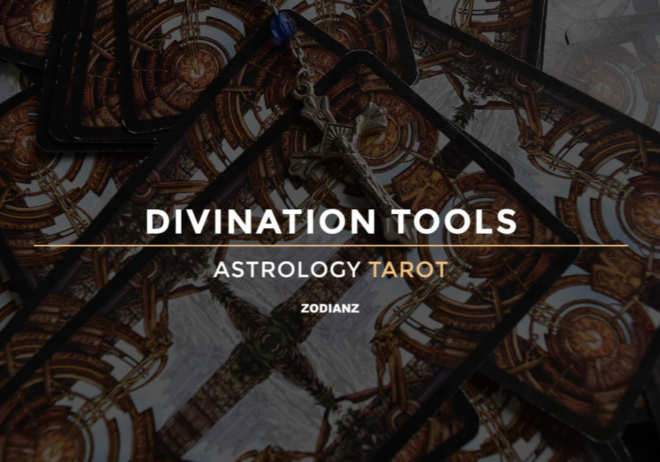 Top Divination Tools I Use: Astrology and Tarot (plus list of other tools)