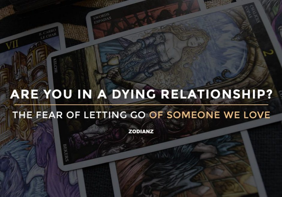 zodianz diary Fear of letting go someone we love