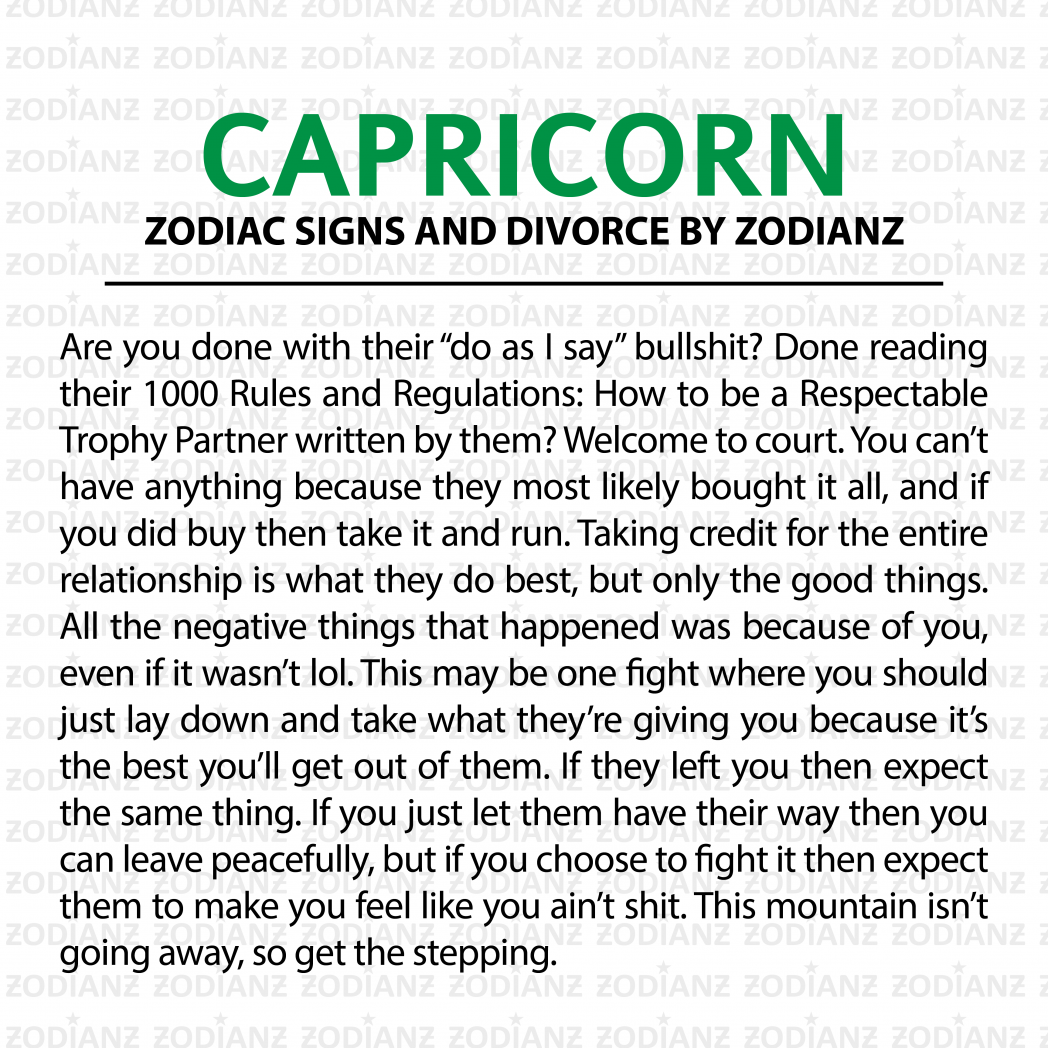 Everything You Need to Know About a Capricorn by Zodianz