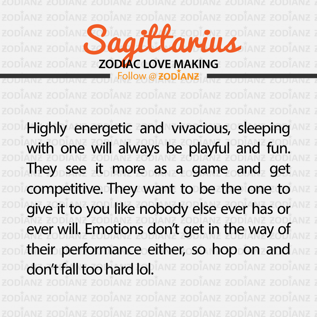 Everything you need to know about your Sagittarius lover