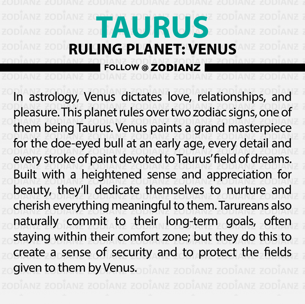 Everything you need to know about Taurus by Zodianz