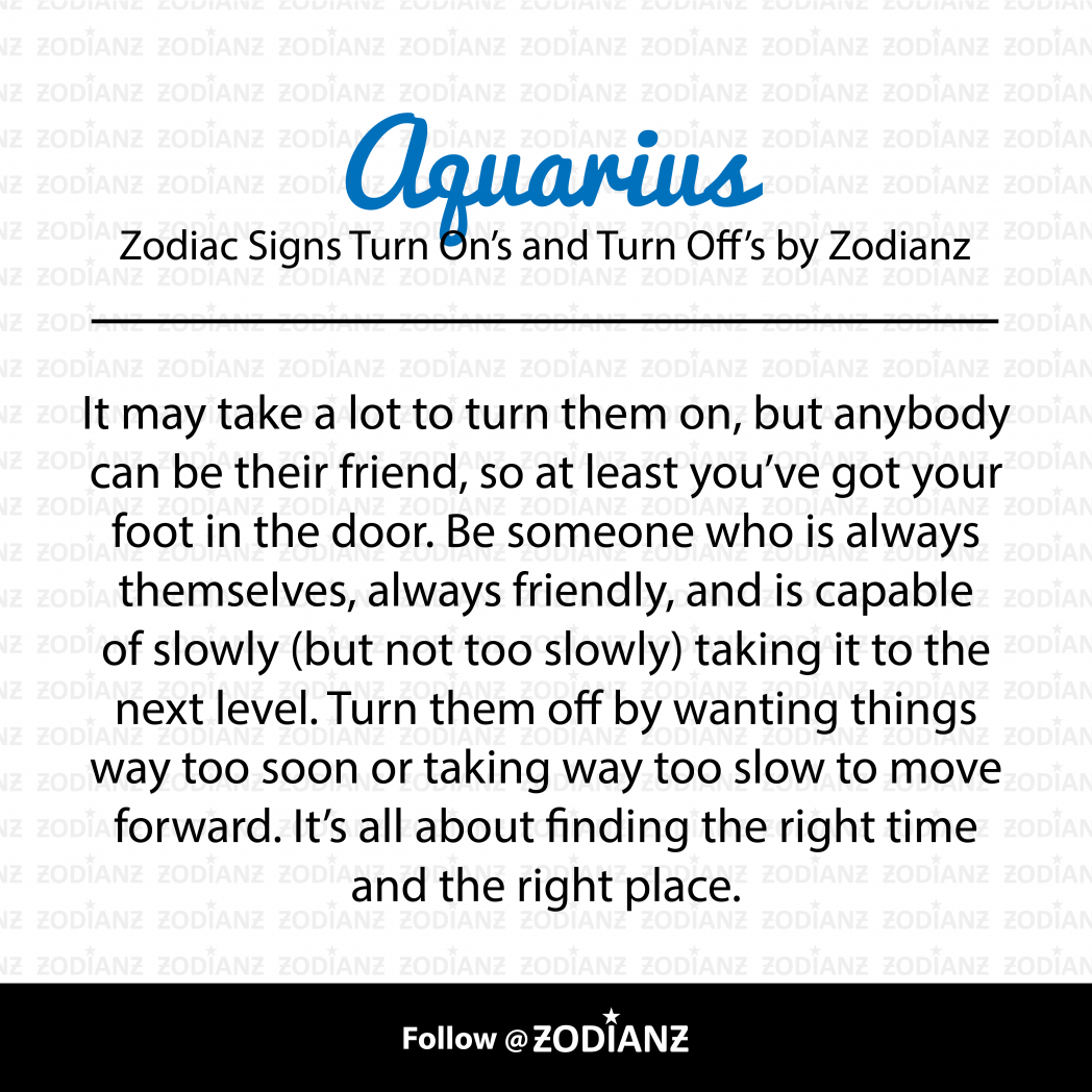 Everything you need to know about an Aquarius by Zodianz